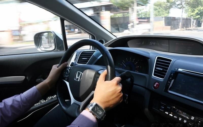 Tập trung khi lái xe