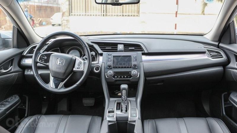 Khoang cabin Honda Civic 2019...