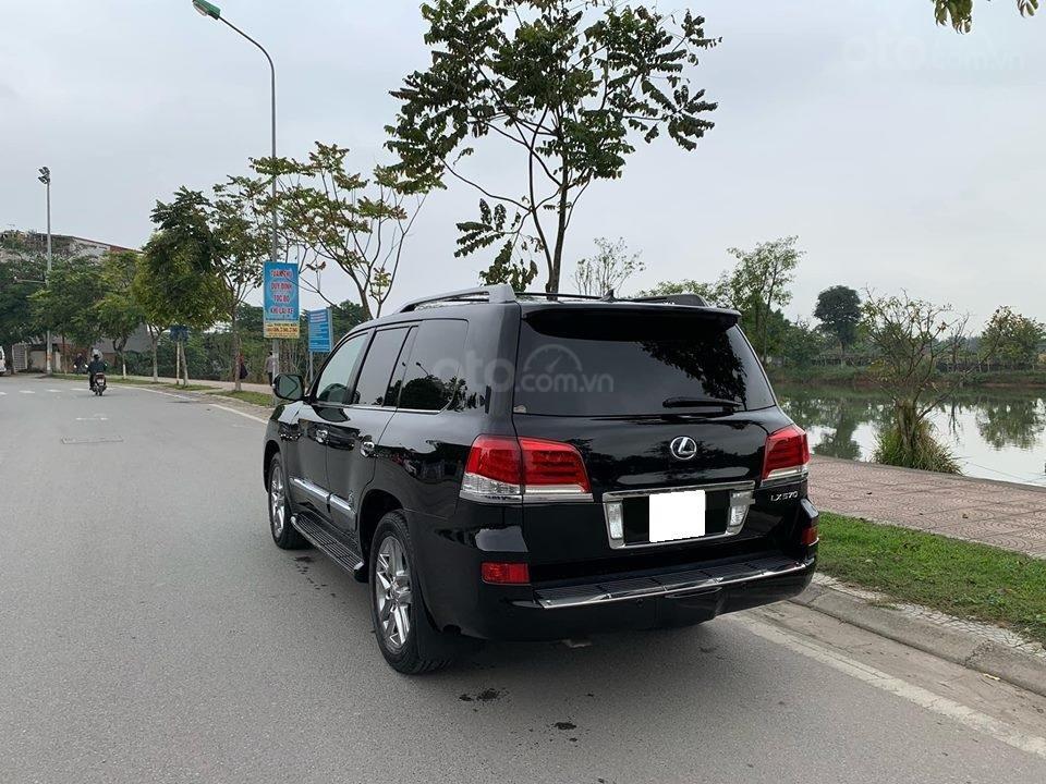 Bán xe Lexus LX570 đời 2012, Đk 2013, màu đen cực đẹp-13