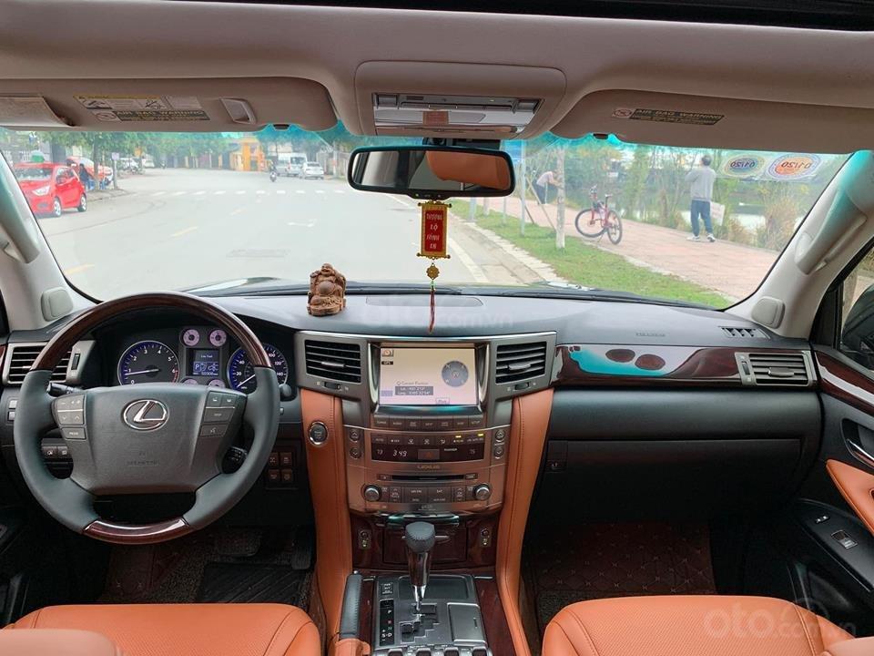Bán xe Lexus LX570 đời 2012, Đk 2013, màu đen cực đẹp-12