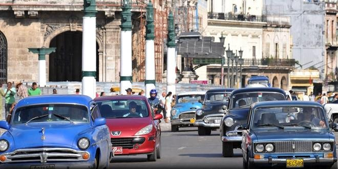 Xe ô tô ở Cuba chủ yếu là xe cổ...