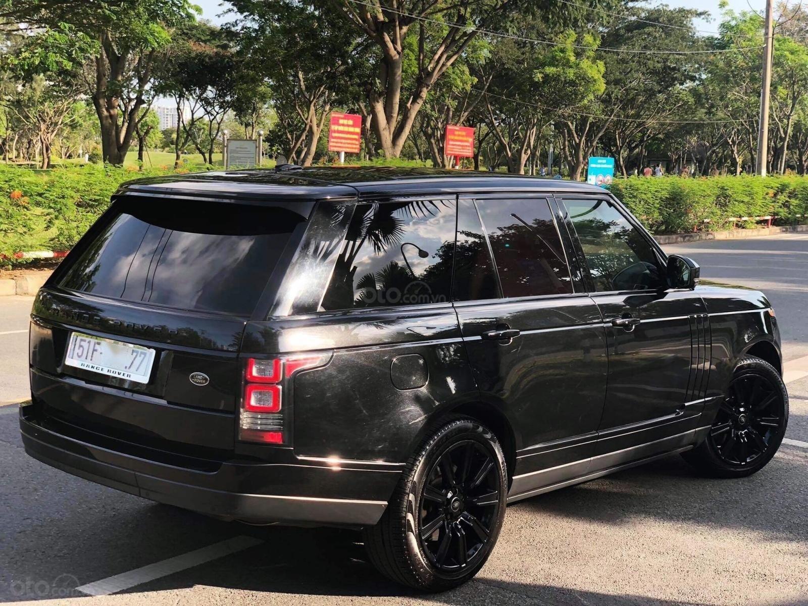 Cần bán LandRover Range Rover HSE đời 2016, màu đen, xe nhập-2