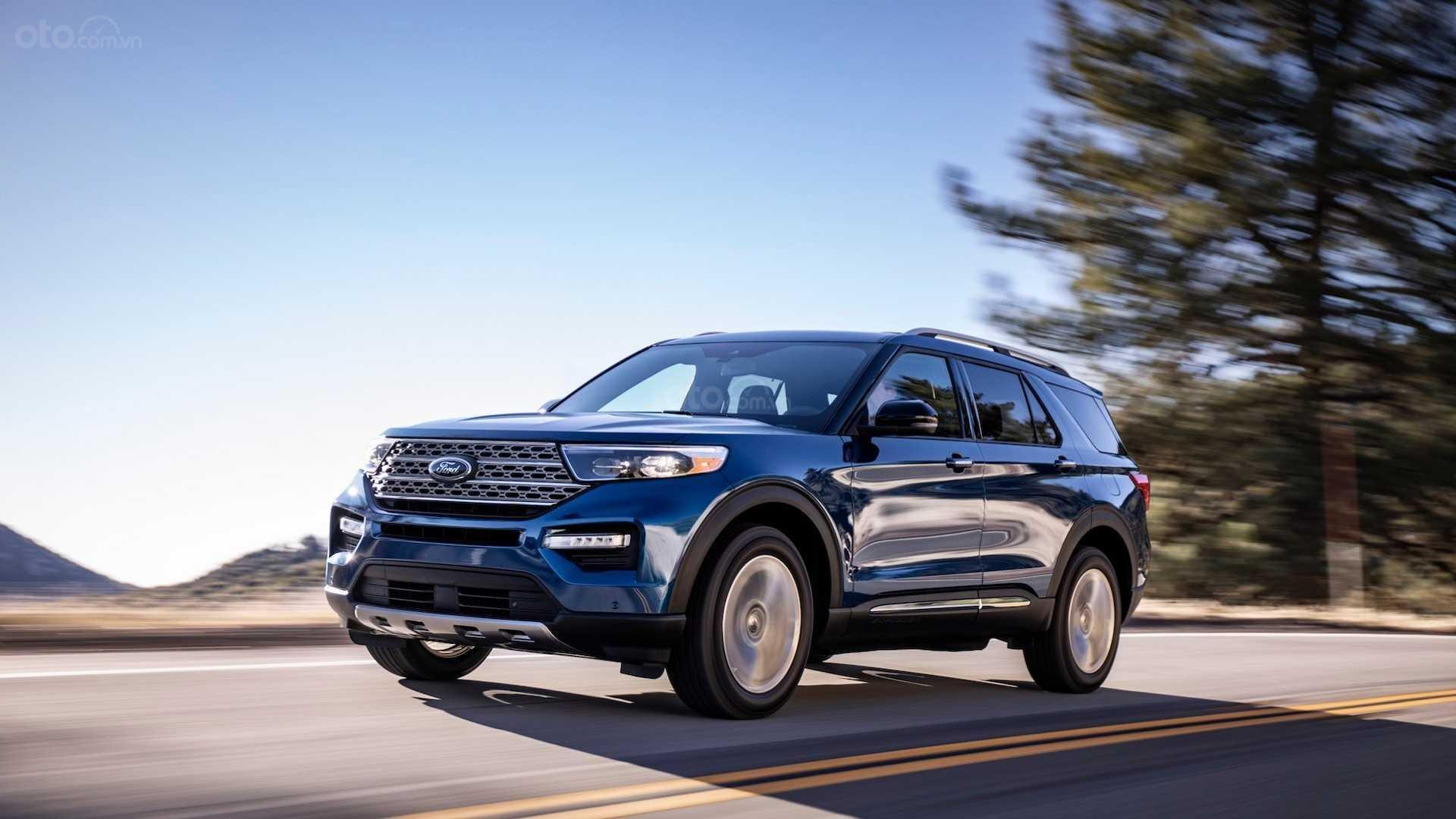 Đánh giá xe Ford Explorer 2020