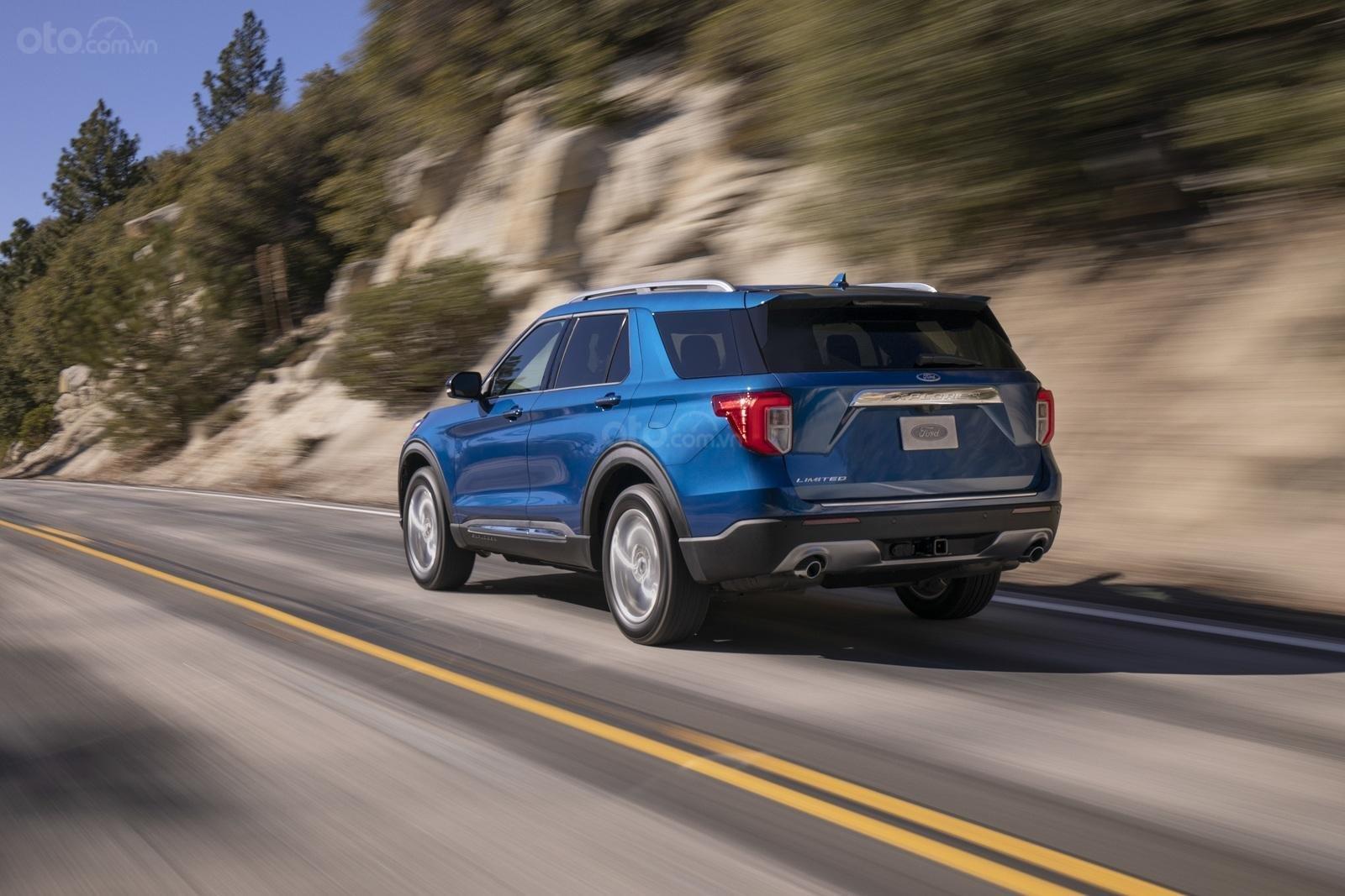 Đánh giá xe Ford Explorer 2020 về mức tiêu thụ nhiên liệu