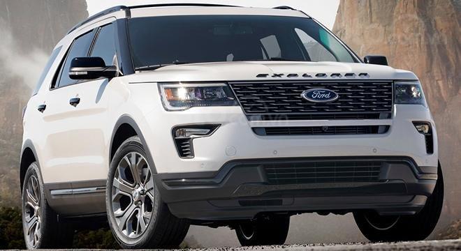 Ford Explorer 2019 đầu xe