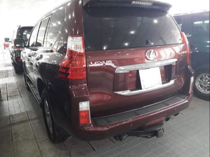 Bán xe Lexus GX 460 2009, màu đỏ, nhập khẩu (2)
