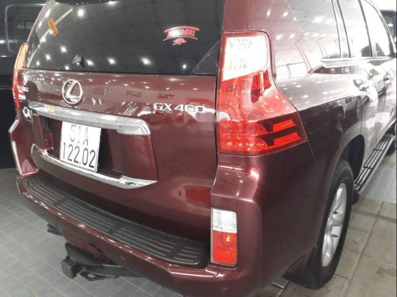 Bán xe Lexus GX 460 2009, màu đỏ, nhập khẩu (3)