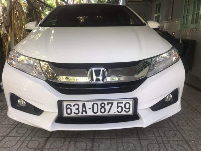 Bán Honda City sản xuất 2015, màu trắng, giá chỉ 520 triệu-0