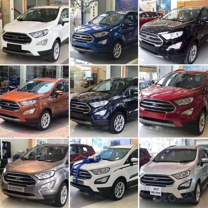 Bán xe Ford EcoSport Titanium, Trend và Ambiente 2019, khuyến mãi: BHVC, phim, camera, bệ bước, LH ngay: 091.888.9278-6