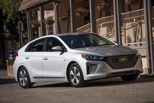 Top 10 mẫu hatchback tốt nhất hiện nay: Hyundai Ioniq Hybrid Limited 2019.