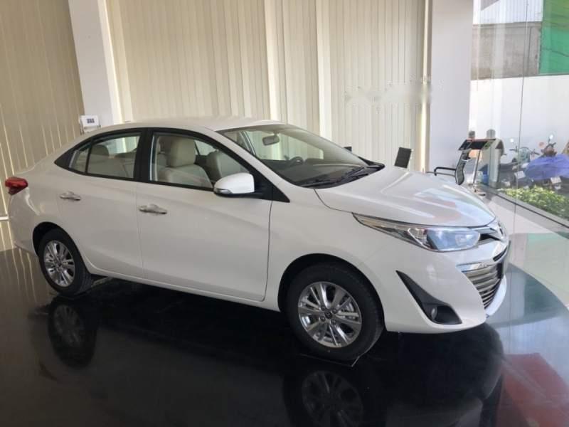 Bán ô tô Toyota Vios 1.5G AT 2019, màu trắng, mới 100%-0