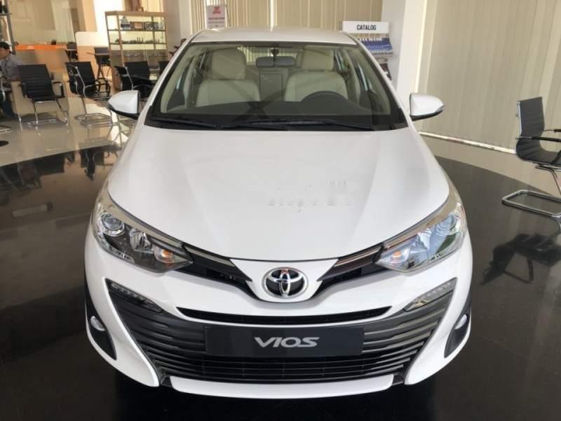 Bán ô tô Toyota Vios 1.5G AT 2019, màu trắng, mới 100%-1