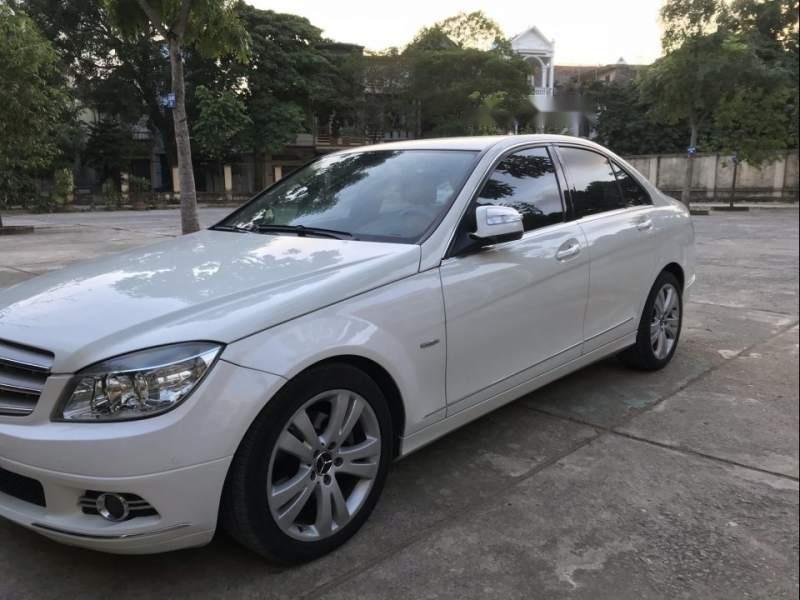 Cần bán gấp Mercedes C200 2008, màu trắng-2