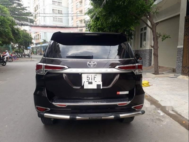 Bán ô tô Toyota Fortuner năm 2017, màu đen-1