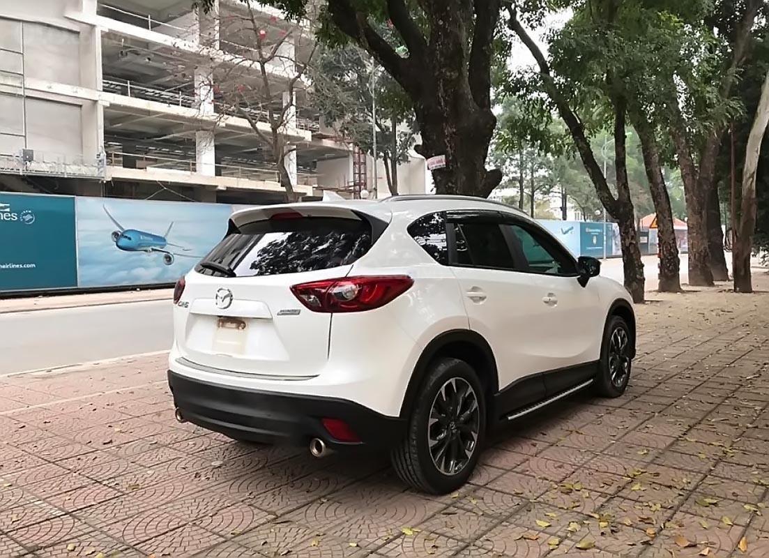 Cần bán Mazda CX 5 2.0 AT đời 2017, màu trắng-1