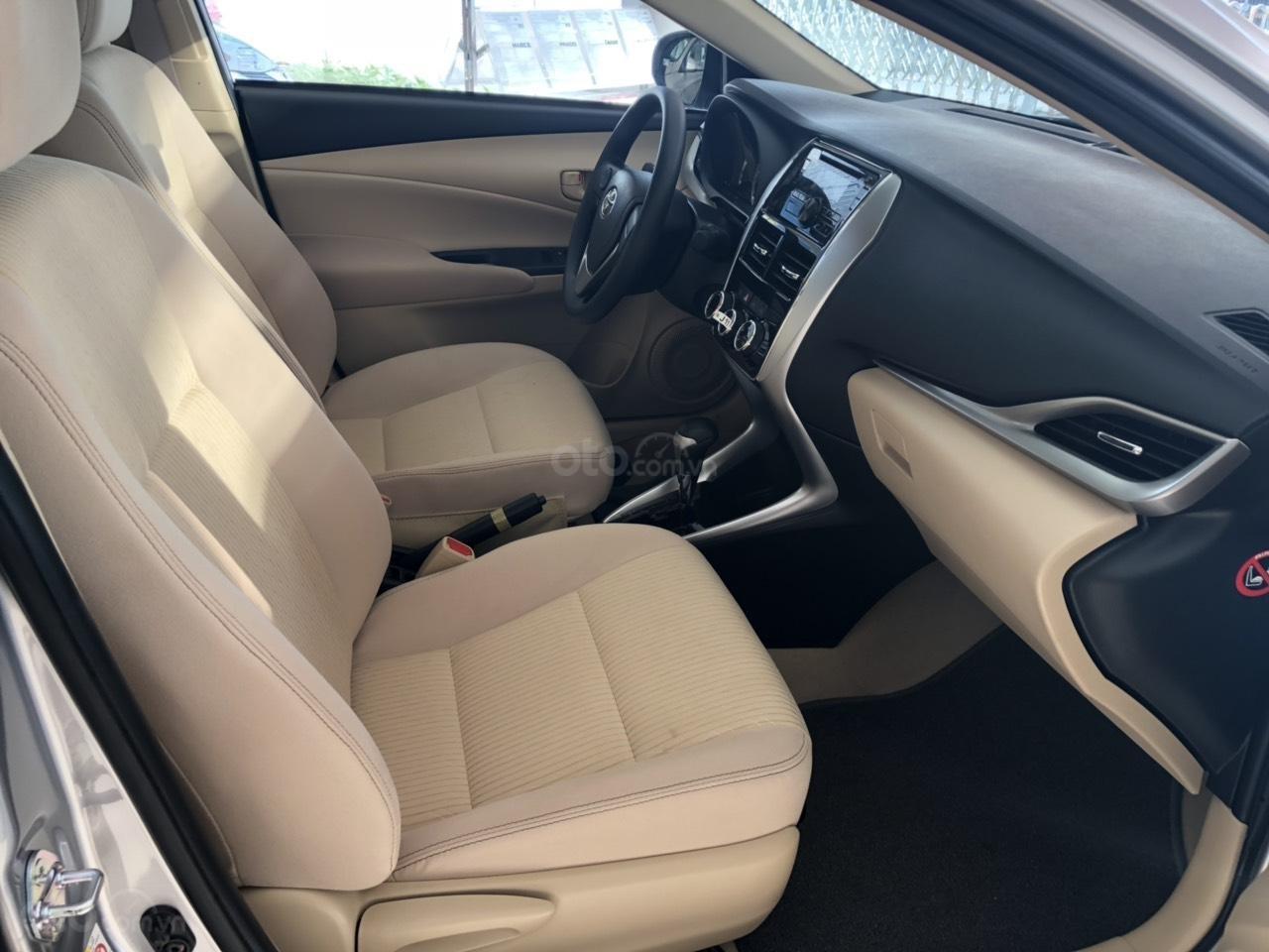 Toyota Vios 1.5E CVT đời 2019, màu bạc, hỗ trợ vay 85%, thanh toán 130tr nhận xe, lãi 0,6%/tháng-3