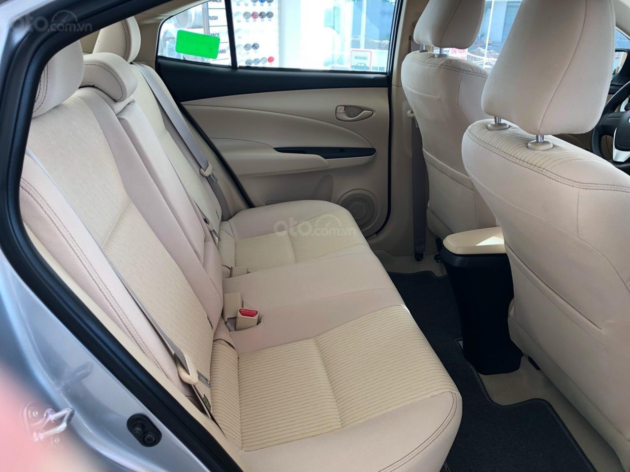 Toyota Vios 1.5E CVT đời 2019, màu bạc, hỗ trợ vay 85%, thanh toán 130tr nhận xe, lãi 0,6%/tháng-4