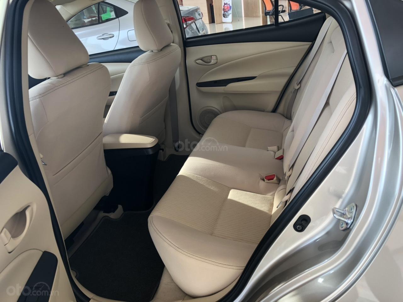 Toyota Vios 1.5E số sàn, màu nâu vàng, hỗ trợ vay 90%, đăng ký grab, thanh toán 130tr nhận xe - Toyota An Thành-2