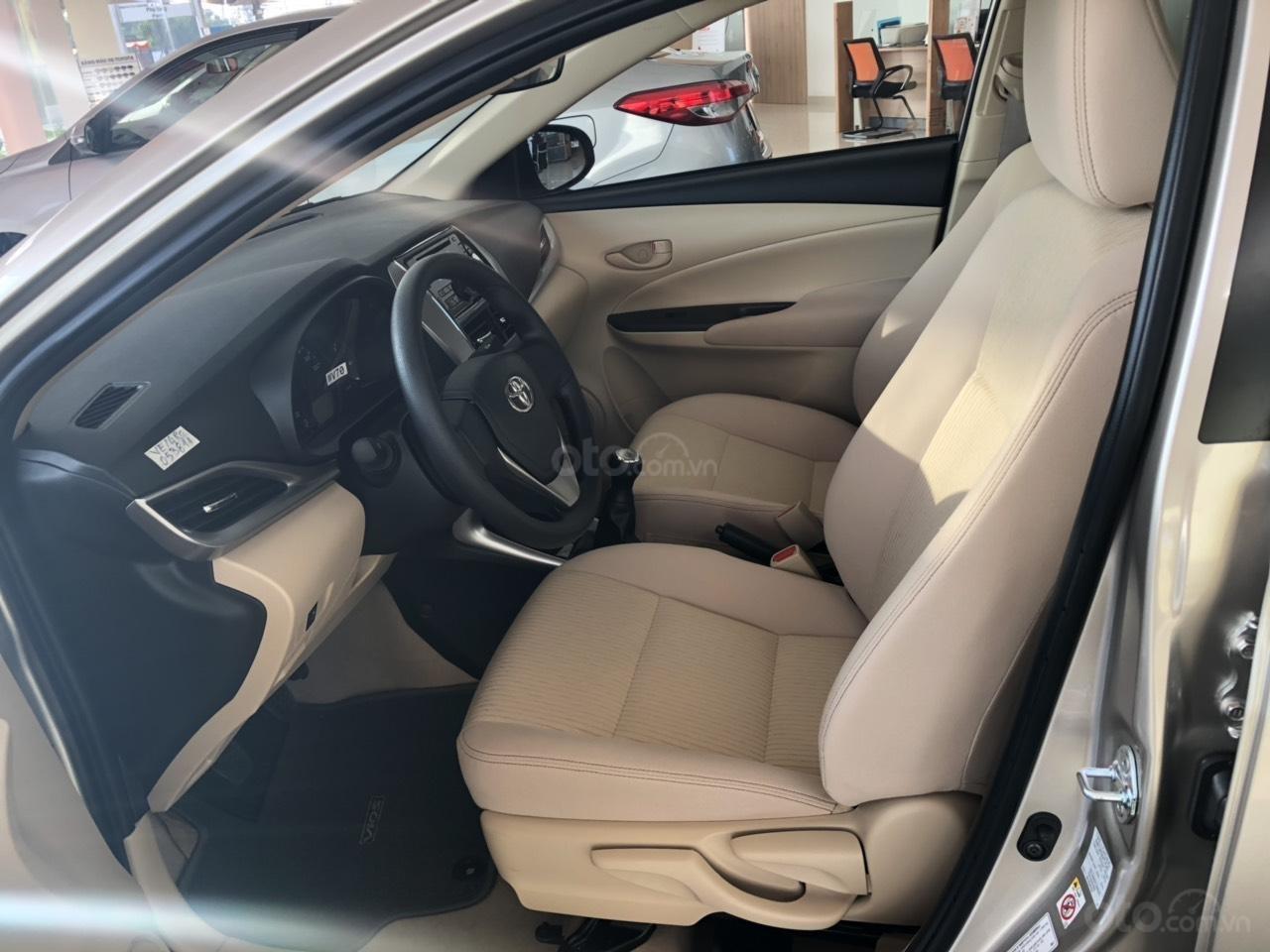 Bán Toyota Vios 1.5E số sàn, màu nâu vàng, hỗ trợ vay 90%, đăng ký Grab, thanh toán 130tr nhận xe - Toyota An Thành-3