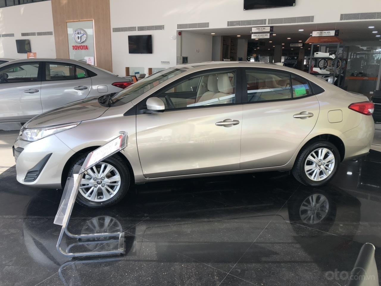 Toyota Vios 1.5E số sàn, màu nâu vàng, hỗ trợ vay 90%, đăng ký grab, thanh toán 130tr nhận xe - Toyota An Thành-4