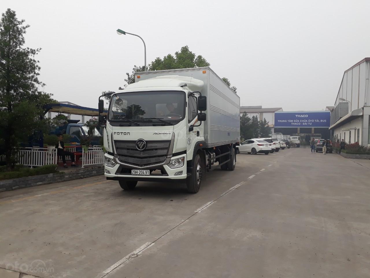 Xe tải Thaco Auman C160.E4 tải trọng 9.1 tấn Trường Hải ở Hà Nội-1