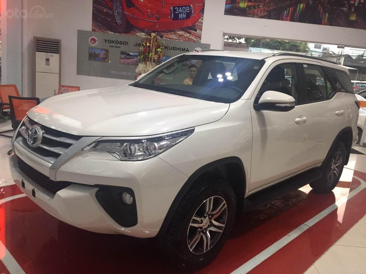 Fortuner 2.4G MT 2019, màu trắng, xe nhập, giao ngay tại Toyota An Thành-1