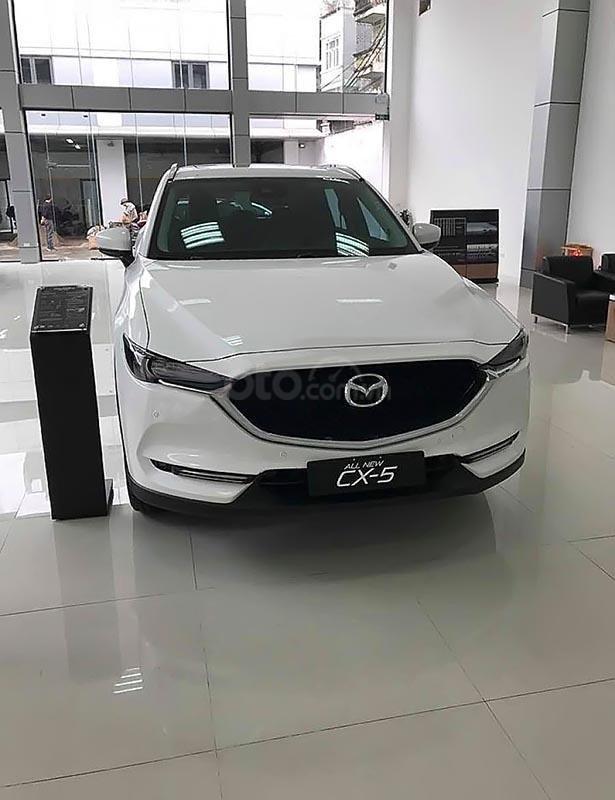 Bán xe Mazda CX 5 2.5 AT 2WD đời 2018, màu trắng-1