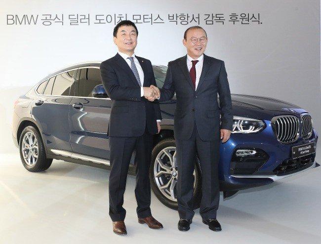 BMW X4 của ông Park Hang-seo