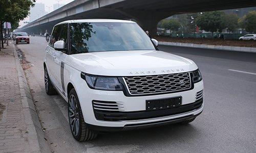 Range Rover Autobiography LWB 2019 màu trắng tại Hà Nội...
