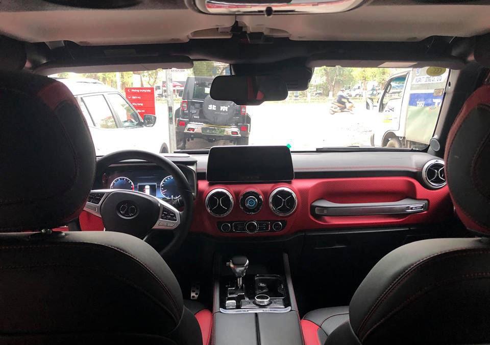 Chiêm ngưỡng xe Baic BJ40L nhái Jeep vừa về Việt Nam a4