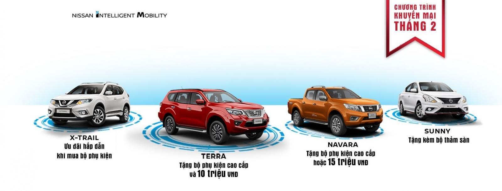 Nissan khuyến mại tháng 2/2019, Nissan Navara nhận ưu đãi cao nhất a2