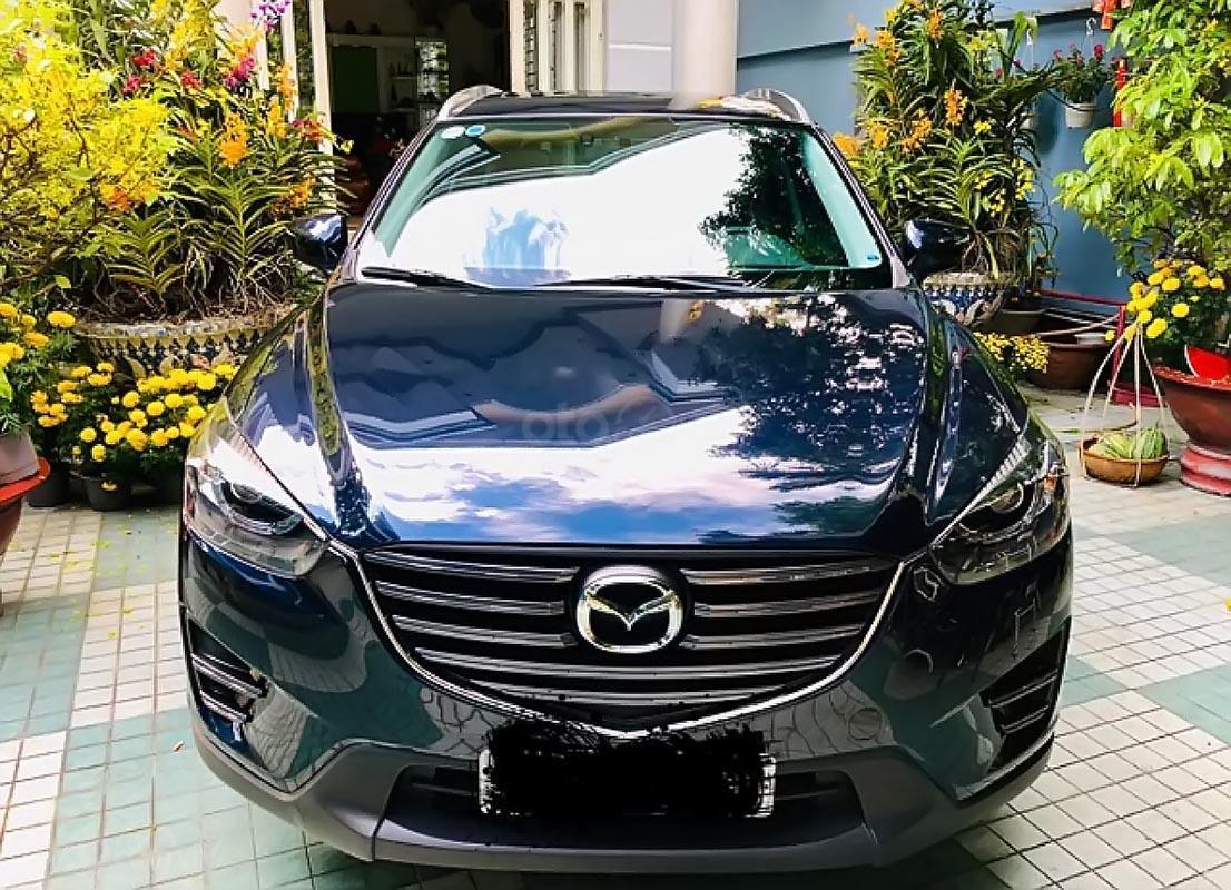 Bán xe Mazda CX 5 2.5 AT đời 2016, màu xanh lam-0