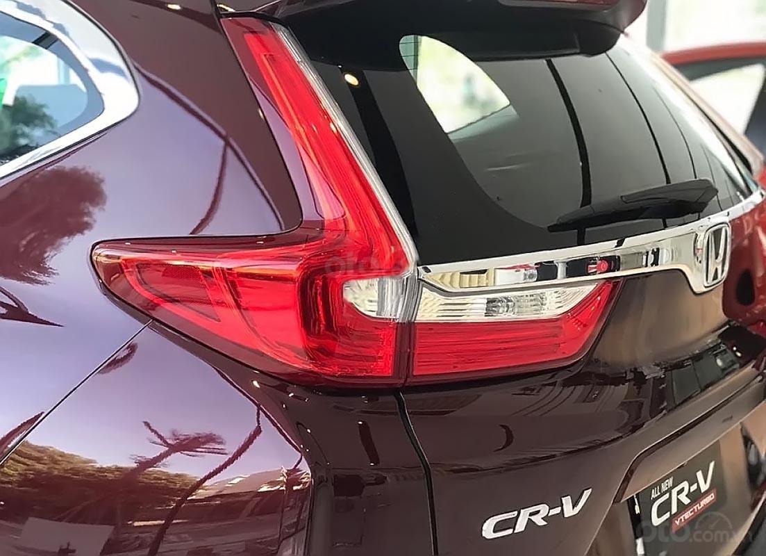 Bán Honda CR V L đời 2019, màu đỏ, nhập khẩu-1