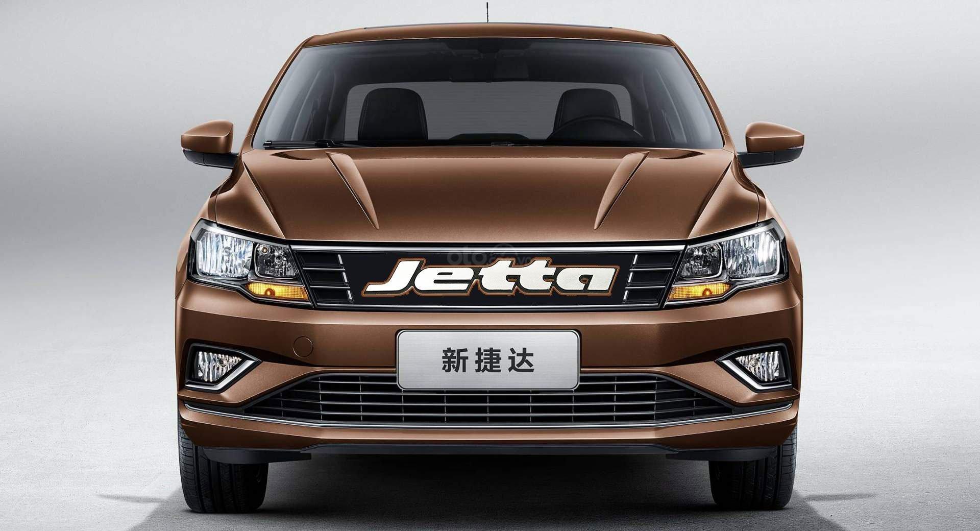Chính diện Volkswagen Jetta bản Trung Quốc