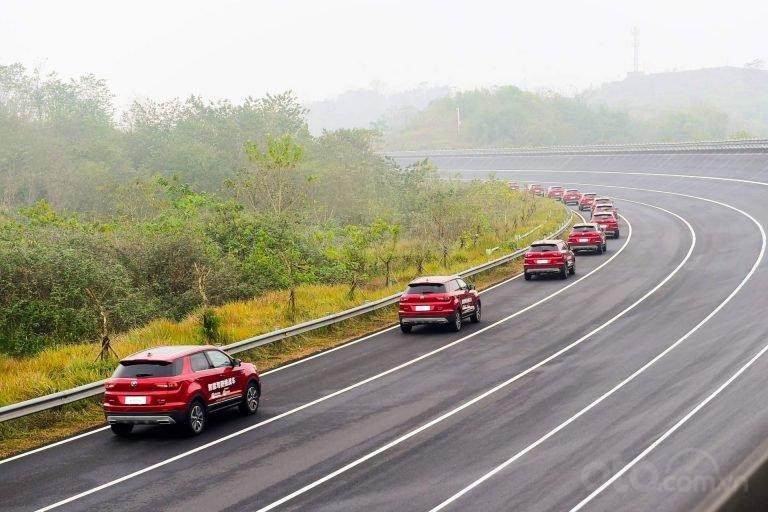 Dàn xe tự lái Trung Quốc lập kỷ lục