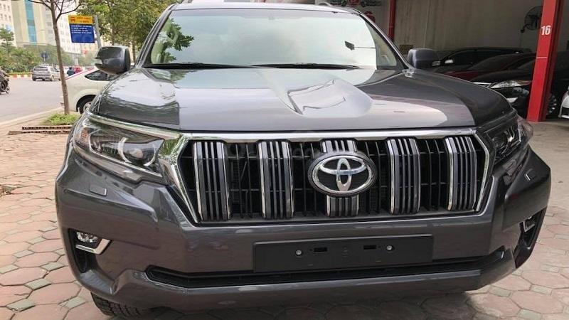 Đầu xe Toyota Prado 2019...