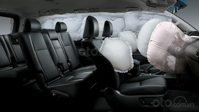 Trang bị an toàn trên Toyota Prado 2019...