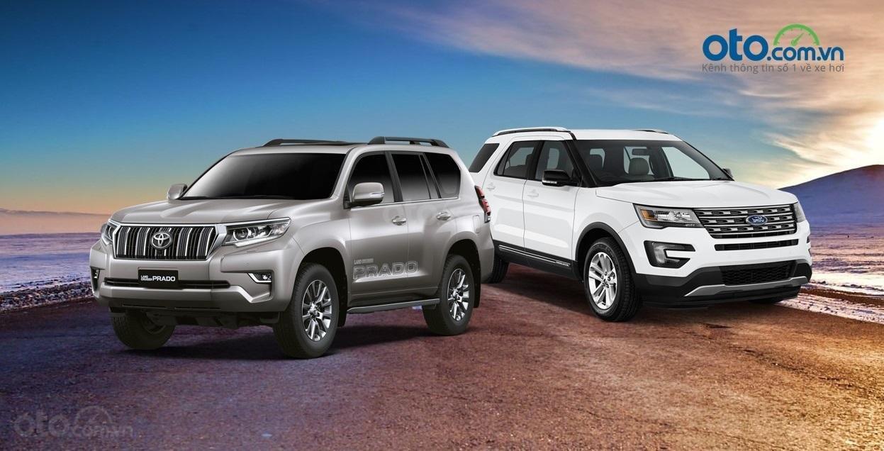 So sánh Toyota Land Cruise Prado 2019 và Ford Explorer 2019...