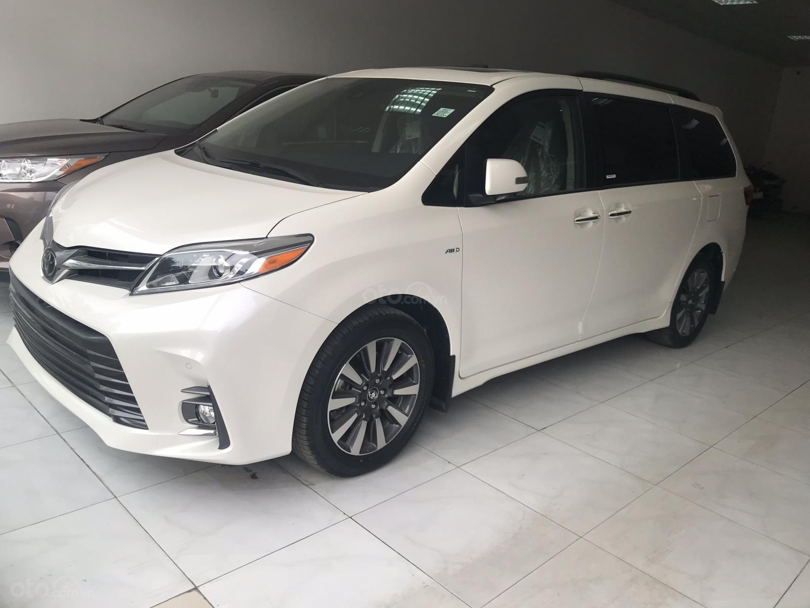 Bán Toyota Sienna Limited sản xuất 2019, mới 100%, đủ màu giao ngay, giá rẻ nhất -1