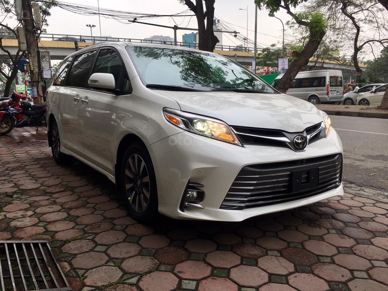 Bán Toyota Sienna Limited sản xuất 2019, mới 100%, đủ màu giao ngay, giá rẻ nhất -2