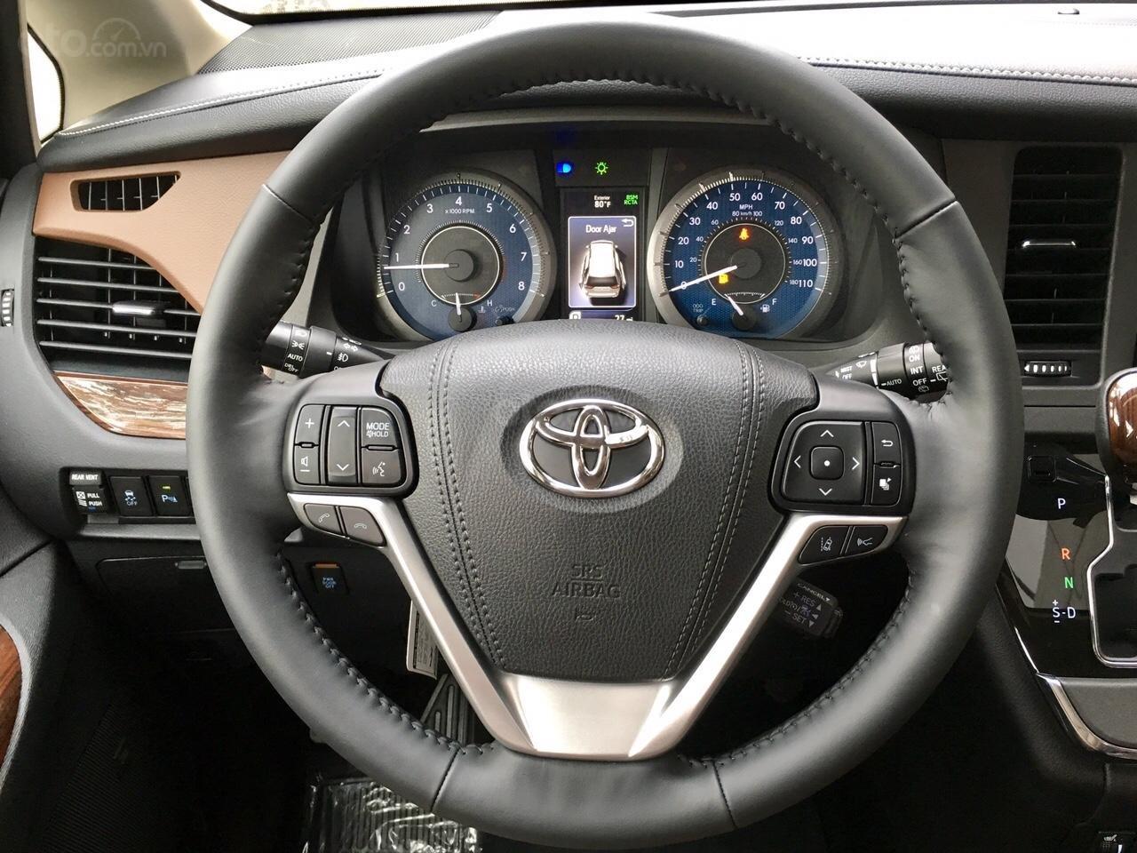Bán Toyota Sienna Limited sản xuất 2019, mới 100%, đủ màu giao ngay, giá rẻ nhất -20