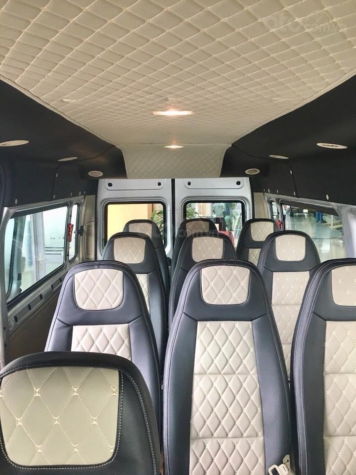 Giao ngay xe Ford Transit 2019, giá cực tốt, tặng: Hộp đen, BHVC, bọc trần, lót sàn, ghế da, gập ghế, LH: 091.888.9278-2
