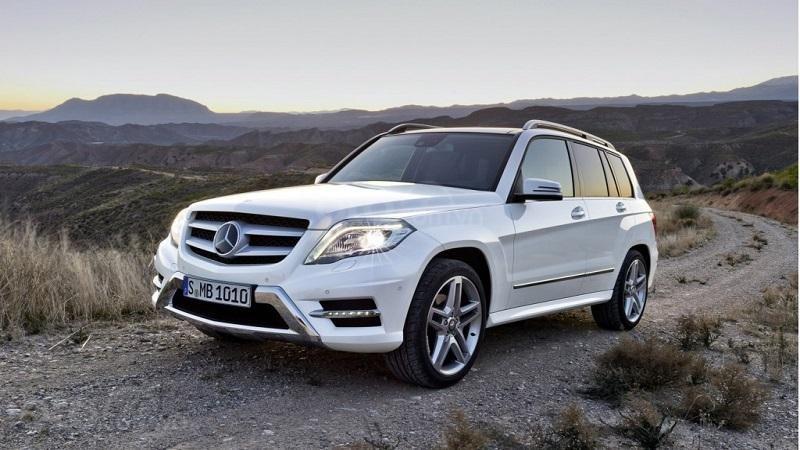 Mercedes-Benz GLK (thế hệ cũ của GLC)...