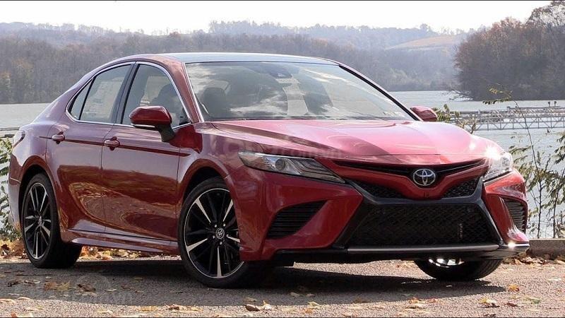 Toyota Camry 2019 sắp về Việt Nam...