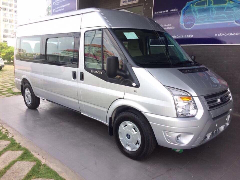Tặng: BHVC, Hộp đen, bọc trần, lót sàn xe - Khi mua xe Ford Transit MID, SVP, Luxury và Limousine 2019, LH: 093.543.7595-1