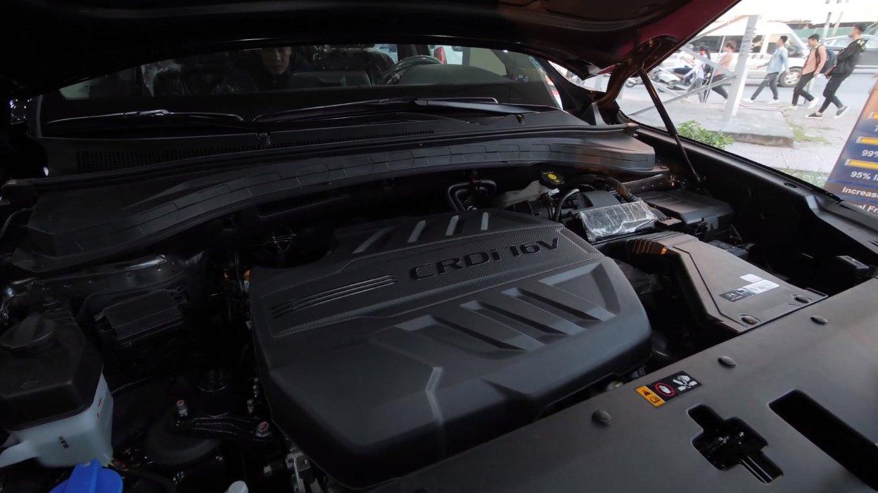 So sánh Hyundai Santa Fe 2019 và Honda CR-V 2019 về vận hành: Sức mạnh ngang nhau 3