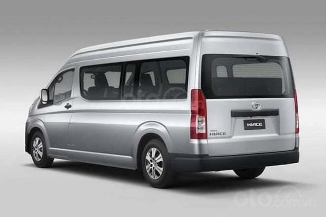 Toyota HiAce 2020 tinh chỉnh kích thước