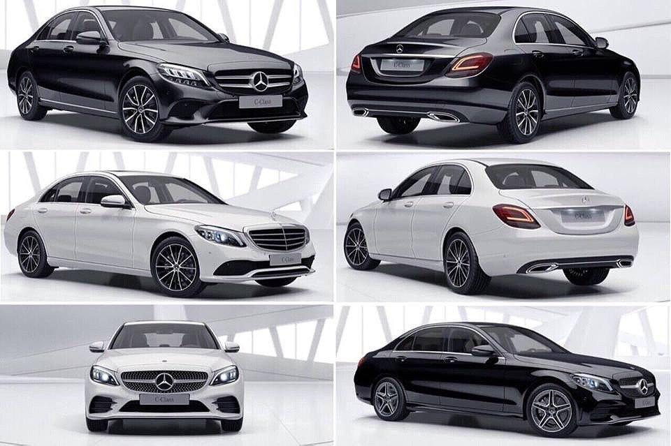 Lộ ảnh xe Mercedes-Benz C-Class 2019 và thời gian ra mắt Việt Nam a2
