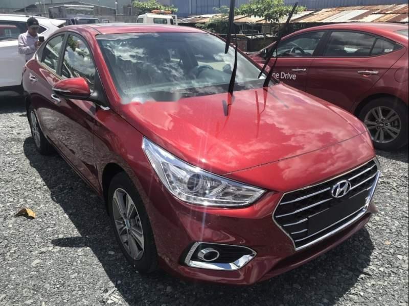Bán Hyundai Accent 1.4 năm 2019, màu đỏ, giá tốt (1)