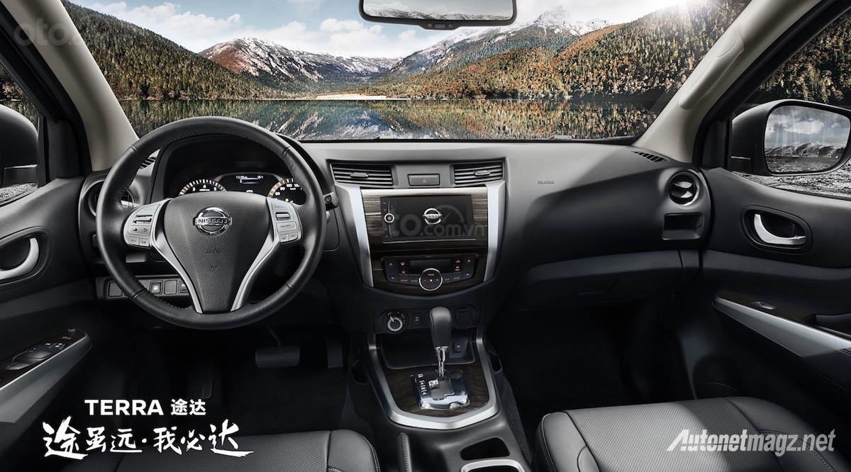 Nissan Terra 2019 màu mới kèm theo nội thất nổi bật